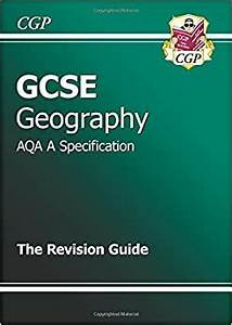 Gcse Geography Aqa A Revision Guide  Amazon Co Uk  Cgp