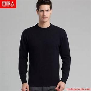 Chemise Homme Col Rond : pull homme de marque pas cher baggy tricots en maille chemise en bas pull pullovers homme la ~ Voncanada.com Idées de Décoration