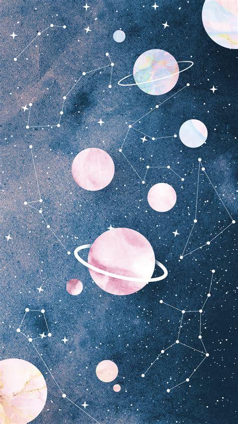 aesthetic space wallpaper