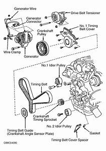 1998 lexus ls 400 serpentine belt routing and timing belt With 2003 lexus ls 430 serpentine belt routing and timing belt diagrams