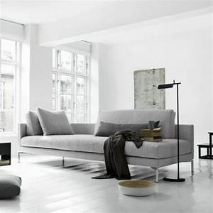 Graues Sofa Kombinieren : inneneinrichtung ideen trendfarbe grau f r das innendesign ~ Michelbontemps.com Haus und Dekorationen
