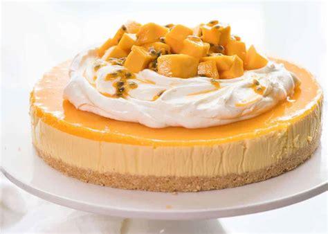 bake mango cheesecake recipetin eats