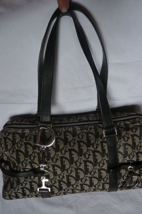 christian dior vintage monogram handbag catawiki