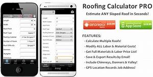 Roofing Calculator Pro App  U2013 Estimate Cost Of Any Sloped