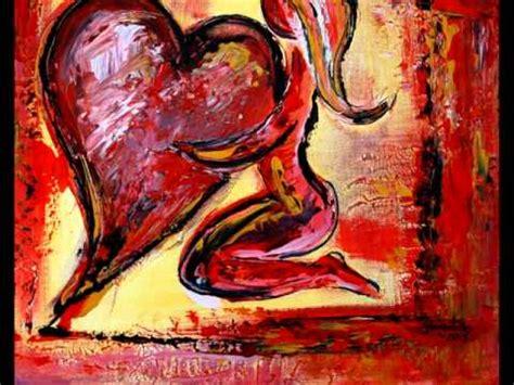 herzbilder abstrakt  acryl herz bilder und gemaelde