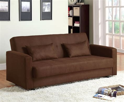 Contemporary Microfiber Sofa by Jansen Contemporary Brown Sofa Set With Microfiber Cm2804