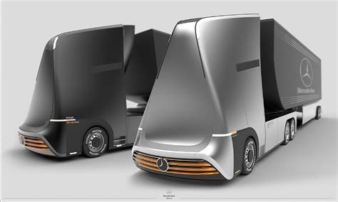 Future Truck Concepts by Mercedes X Future Truck Concept Snupdesign