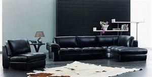 le canape club quel type de canape choisir pour le salon With tapis peau de vache avec canapé d angle en lin