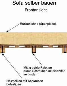 Sofa Aus Paletten Selber Bauen : sofa selber bauen anleitung ~ Michelbontemps.com Haus und Dekorationen