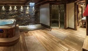 Salle De Bain Cosy : am nagement d 39 un chalet cosy ~ Dailycaller-alerts.com Idées de Décoration