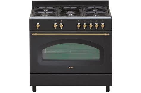 grand chef de cuisine piano de cuisson sauter scm690e retro noir scm690e 2878135 darty