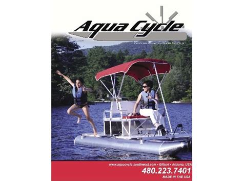 Aqua Cycle Paddle Boat For Sale by Aluminum Aqua Cycle Paddle Boat Boats For Sale