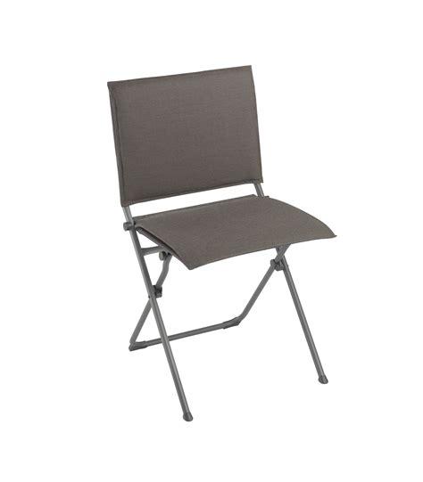 chaise de cing lafuma chaise anytime de lafuma 3 coloris