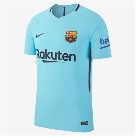 voici le maillot du fc barcelone ext 233 rieur 2017 2018