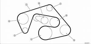 2006 Nissan Frontier Le Serpentine Belt Diagram