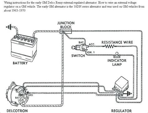 Chevy One Wire Alternator Diagram Davestevensoncpa