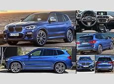 BMW X3 M40i 2018 pictures, information & specs