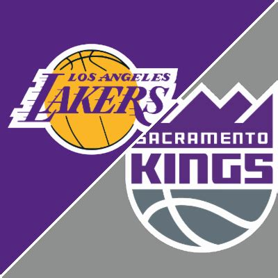 lakers  kings game summary february   espn