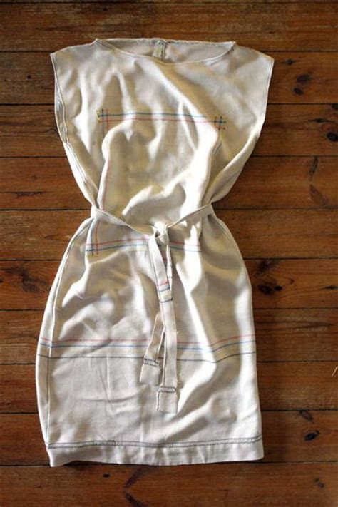 vintage tablecloth dress diyideacentercom