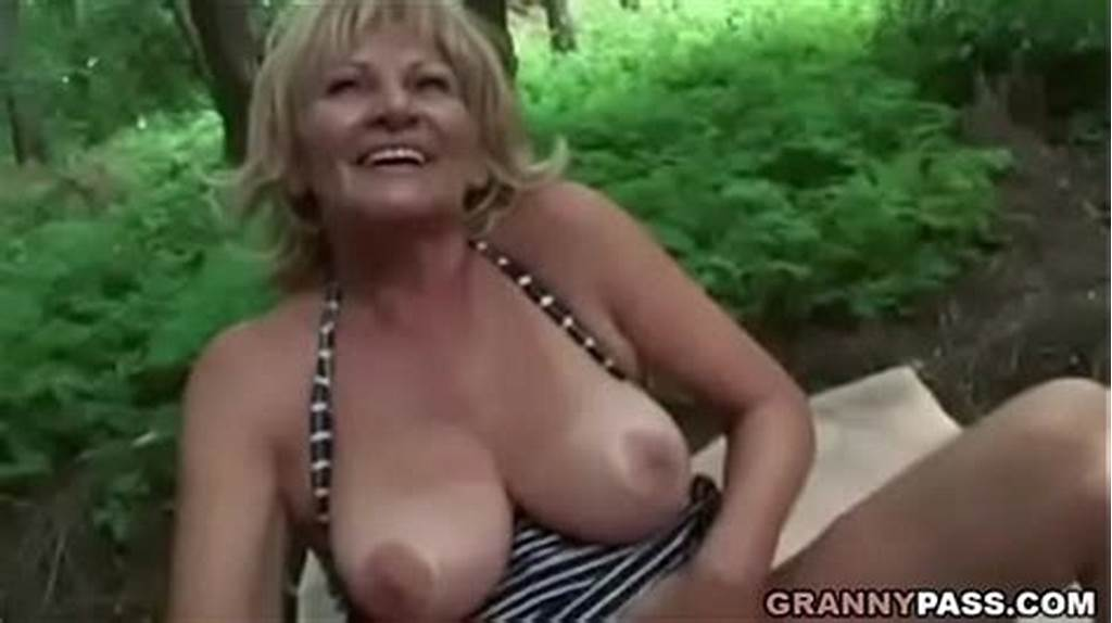 #Busty #Granny #Gets #Fucked #In #The #Forest