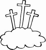 Crosses Coloring Three Pages Cross Easter Clipart Kings Printables Angeles Los Printable Sheets Logos Jesus Right Colouring Books sketch template