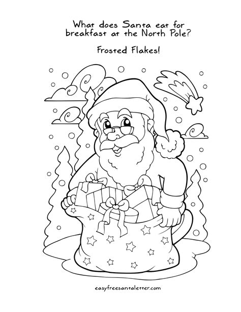 Christmas Coloring Pages Letters