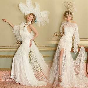 yolan cris romantic wedding gowns 2010 1920s wedding With 1920s inspired wedding dresses