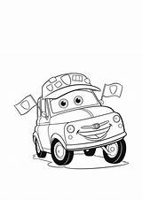 Coloring Cars Disney Cartoon Pixar Cliparts Colouring Mcqueen Clipart Printable Race Printables Drawing Library Popular Want Keywords Similar sketch template