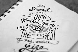 sketchbook hand lettering lauren kracht design With lettering sketchbook