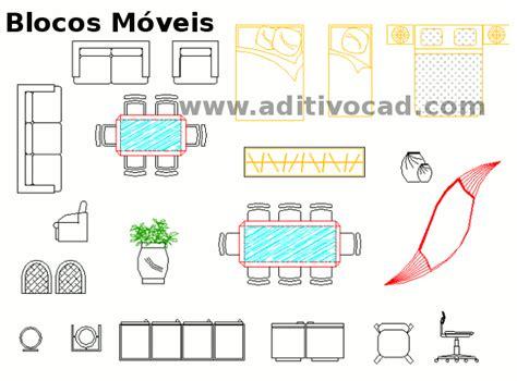 Blocos Cad/dwg Móveis Para Autocad