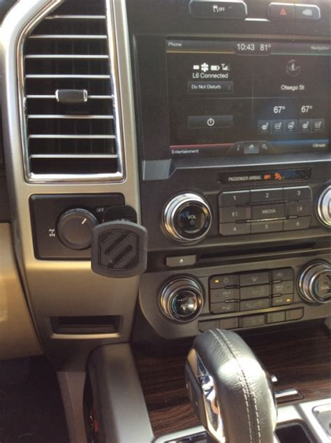 phone mount options page  ford  forum community