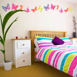 bedroom wall decor ideas butterfly bedroom wall decal mural ideas for