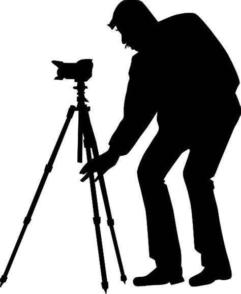 13276 photographer silhouette png silhouette photographer clip at clker vector