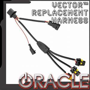 Oracle Vector U2122 Replacement Headlight Wiring Harness