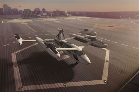"Uber Reveals Its Latest ""flying Car"" Prototype For Aerial"
