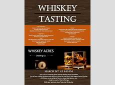 Lincolnshire Country Club Whiskey Acres Tasting Dinner