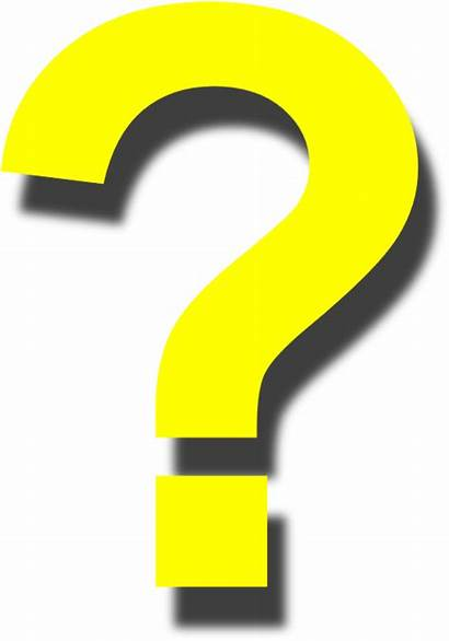 Question Mark Yellow Clipart Transparent Clip Exclamation