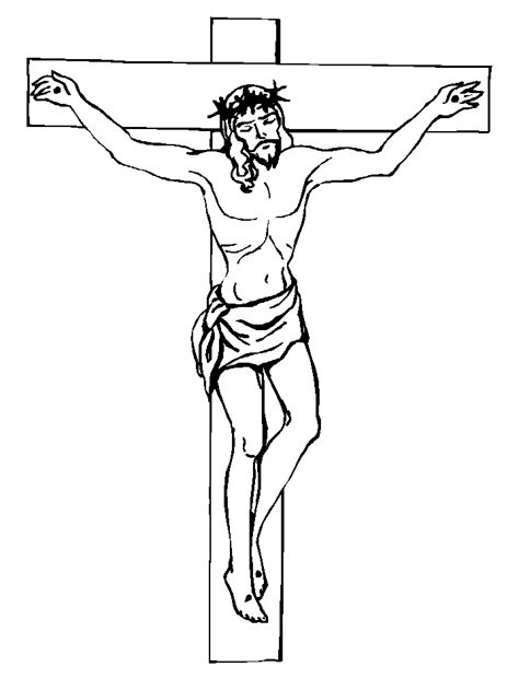 template john  baptist cross coloring page jesus