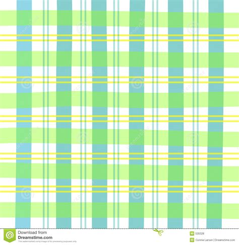 green gingham plaid royalty  stock image image