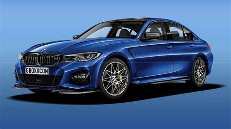 2020 Bmw M3 Render Imagines The High-powered Sports Sedan