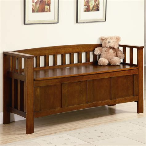 Bed Bench With Storage by Sofa Storage Bench Rustic Storage Bench Console Entryway