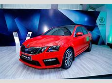 2017 Skoda Octavia vRS launched in India at INR 2462 Lakh