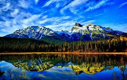 Mountain Lake Wallpapers Landscape Mountains Nature Snow