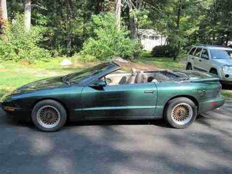 automobile air conditioning service 1997 pontiac firebird user handbook purchase used 1997 pontiac firebird formula convertible in norfolk massachusetts united states