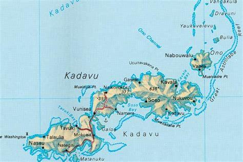 Kadavu Island On The Astrolobe Reef In Fiji