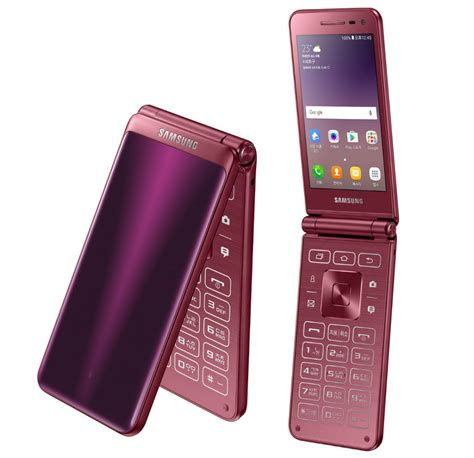 samsung galaxy folder 2 android flip phone launched in korea
