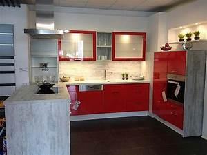 Küche Rot Hochglanz : selektion d musterk che moderne k che ausstellungsk che in schelklingen von k chen galerie ~ Yasmunasinghe.com Haus und Dekorationen