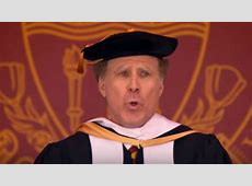 Will Ferrell Serenades USC Grad?uate?s With Whitney