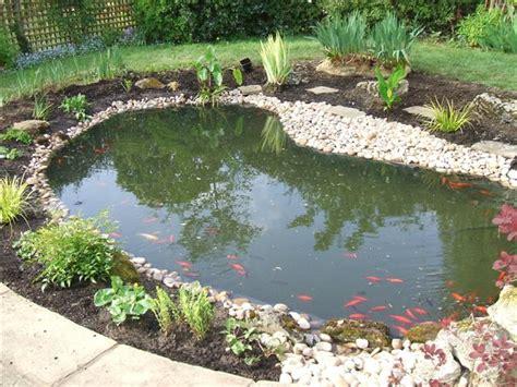 nice home fish pond decor image  ideas