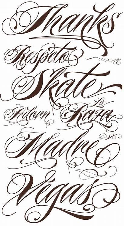 Tattoo Font Styles Technology Fonts Lettering Fancy